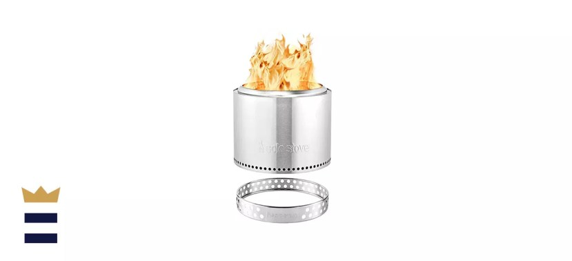Solo Stove Bonfire with Stand in Stainless Steel