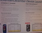 Sprint Sanyo Taho, BlackBerry Style, Dell Mini 10 - Image 4 of 5