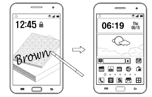 galaxy note 4 unlock software feature may use handwriting recognition bgr. Black Bedroom Furniture Sets. Home Design Ideas