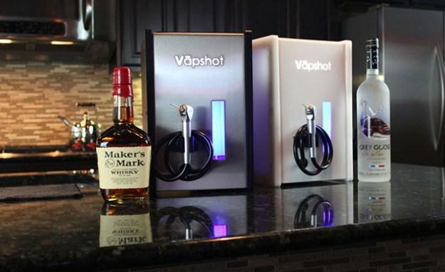 Vapshot Mini Inhale Your Alcohol Shots As A Vapor Bgr