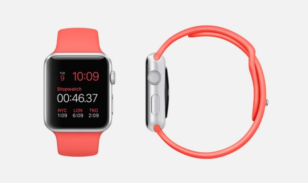 pink-sport-7000-series-silver-aluminum-apple-watch-sport-38mm-or-42mm-case-with-pink-fluoroelastomer-sports-band-stainless-steel-pin-ion-x-glass-retina-display-and-composite-back