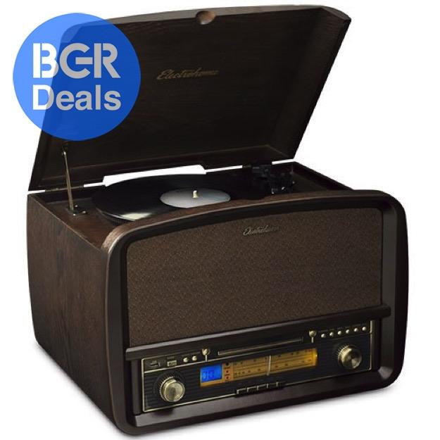 vinyl record player on sale on amazon bgr. Black Bedroom Furniture Sets. Home Design Ideas