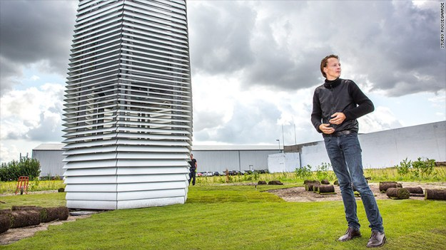 Smog Check History >> Smog Free Tower city air purifier project in Beijing | BGR