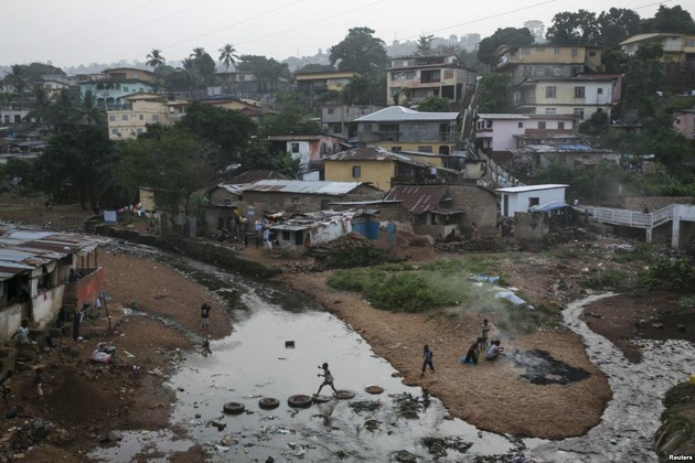 help us upgrade, dont evict us: sierra leone slum dwellers battle for their homes