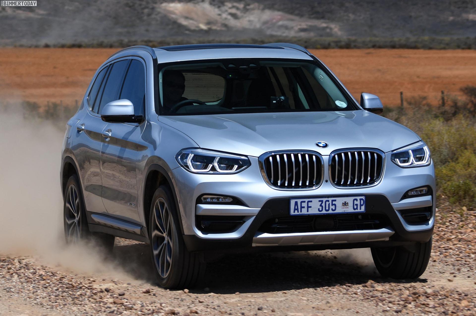 BMW X3 G01 Neue Fotos Zeigen XDrive20d XLine In Glaciersilber