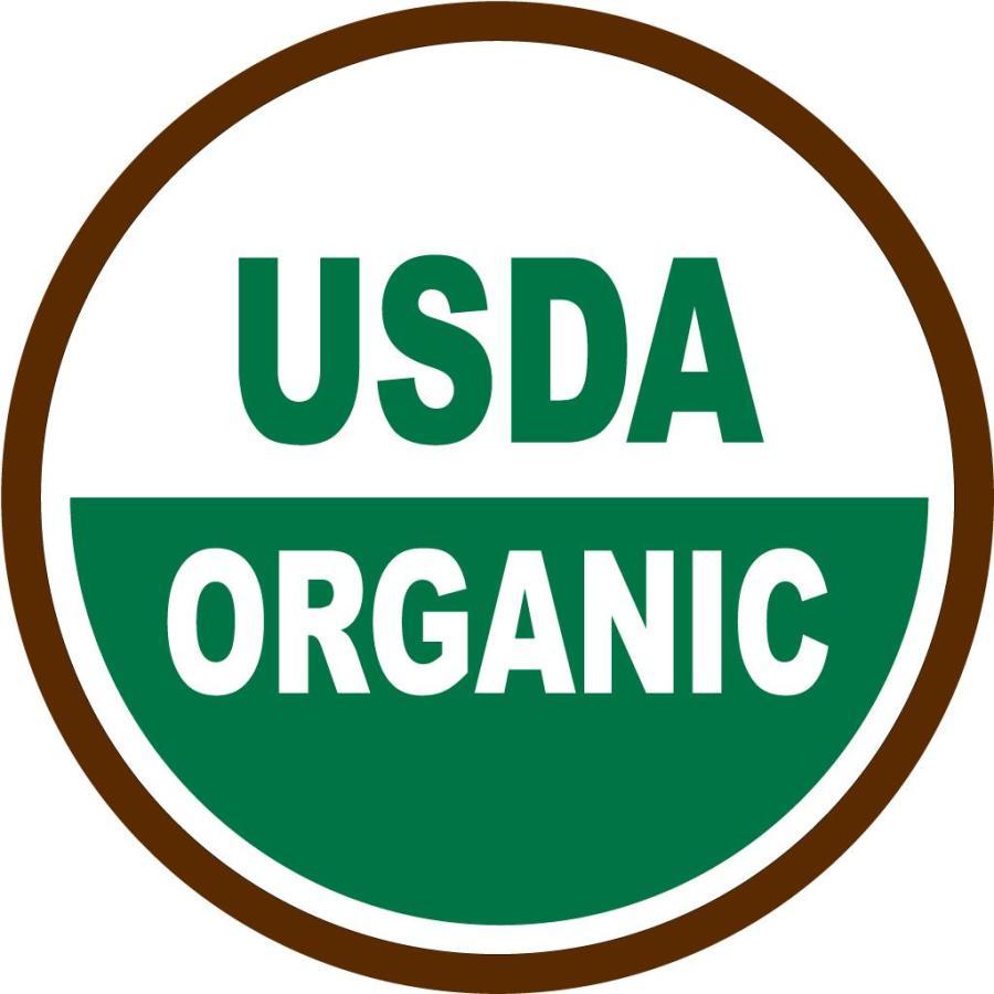 Přírodní certifikát USDA ORGANIC
