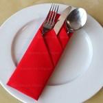 Servietten Falten Bestecktasche Basteln Mit Papier Servietten Tischdeko