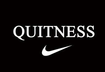 Sign of QUITNESS parody of WITNESS