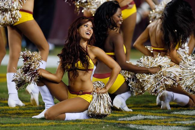 Naked blitz the league cheerleaders