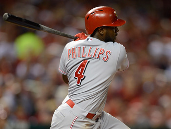 Brandon Phillips gets a home run