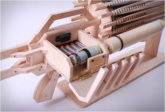 Gatling Gun Rubber Band