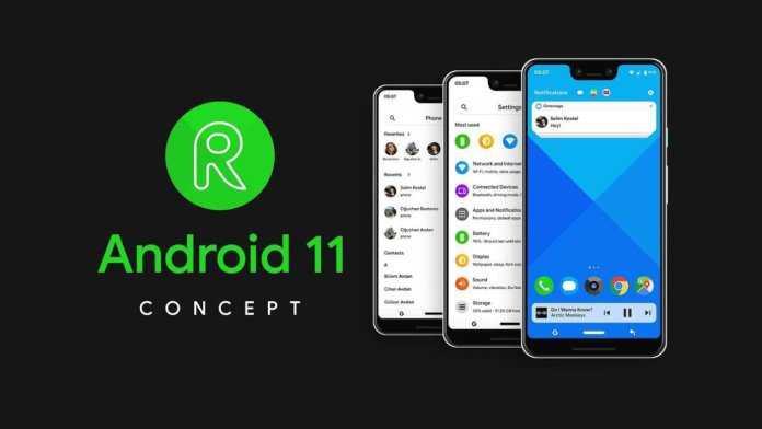 Android 11 Concept
