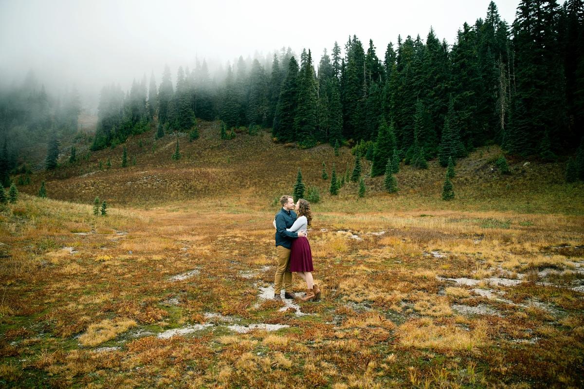 Mount Rainier National Park Seattle Wedding Photographer