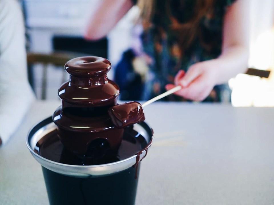 chokoladefontæne
