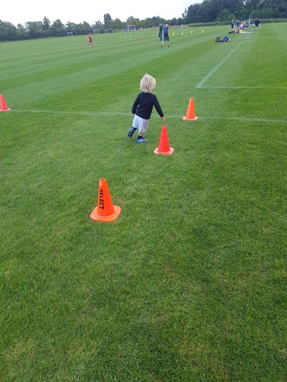 fodbold toårig