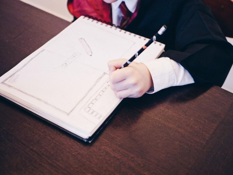 tegn din drøm skolestart