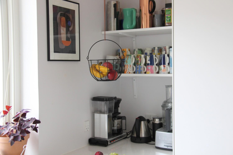 Diy Opbevaring Af Frugt I Kokkenet Og En Lille Rundtur I Kaffehjornet Bolig Mor Med Mere