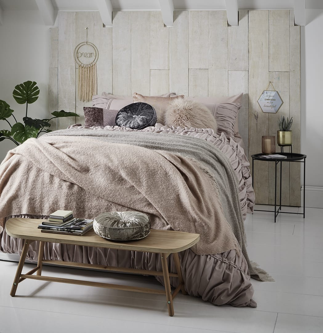 B M Home Spring Summer 2019 Blush Bedroom P50