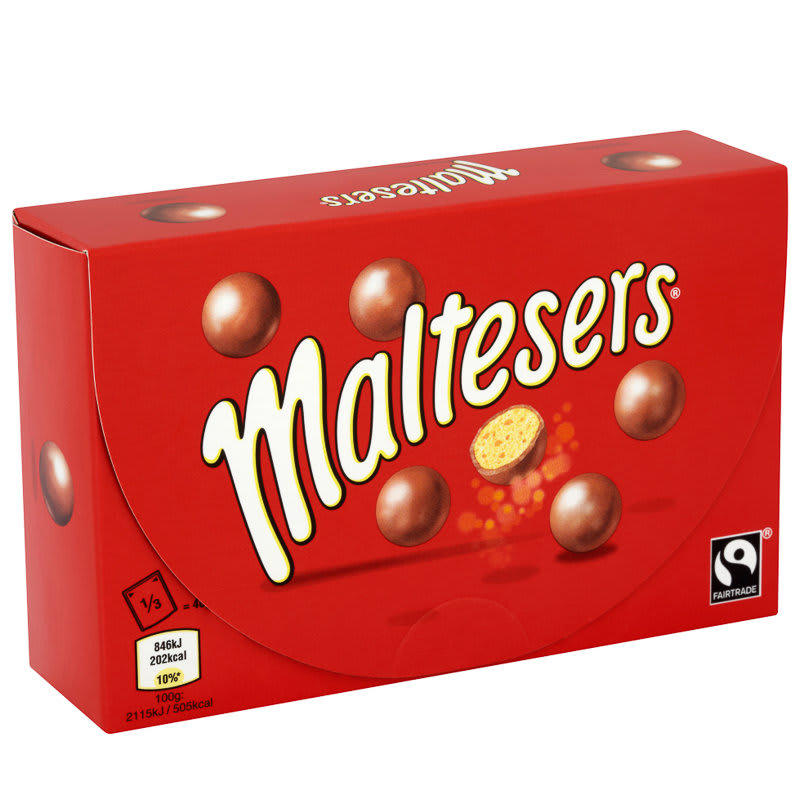 Maltesers Box Chocolate Chocolate Box