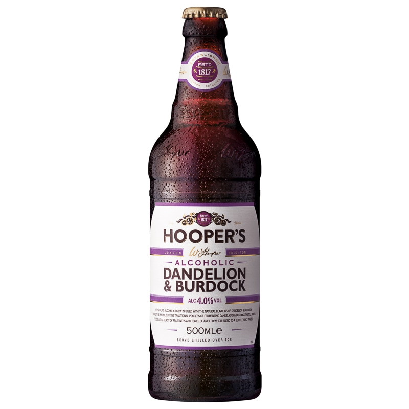 Hoopers Dandelion Amp Burdock 500ml Alcohol BampM