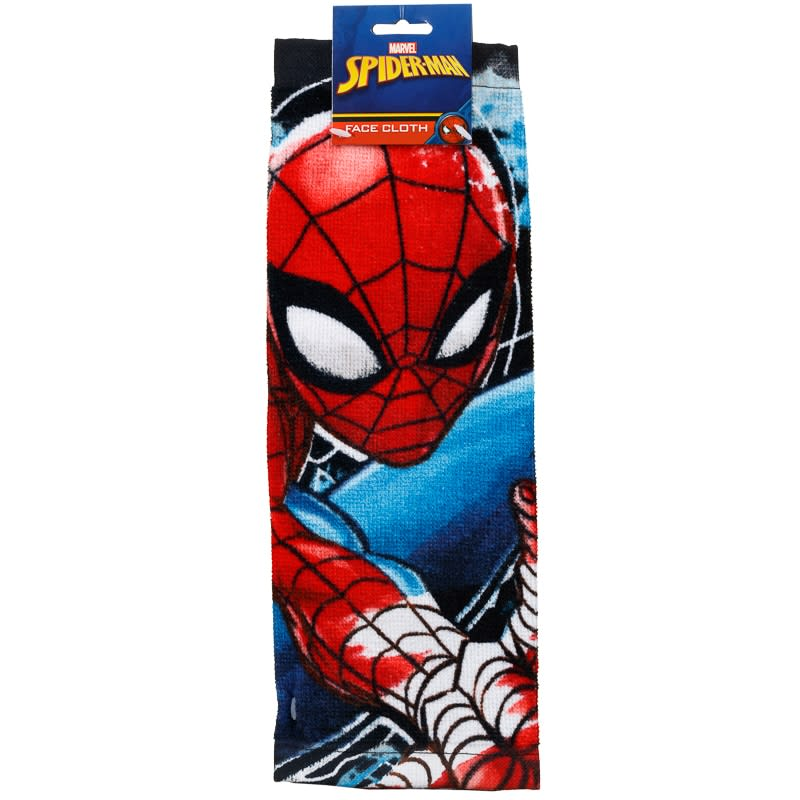 Spider Man Face Cloth Marvel Towels BampM