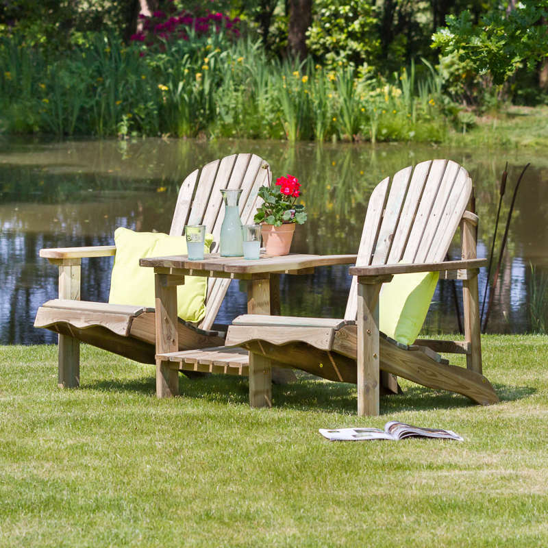 Lily Relax Double Seat Garden Furniture Garden Seating