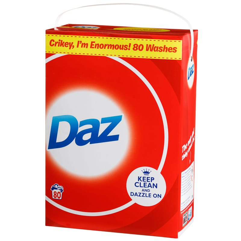Daz Original Washing Powder 80w Laundry Detergent B Amp M