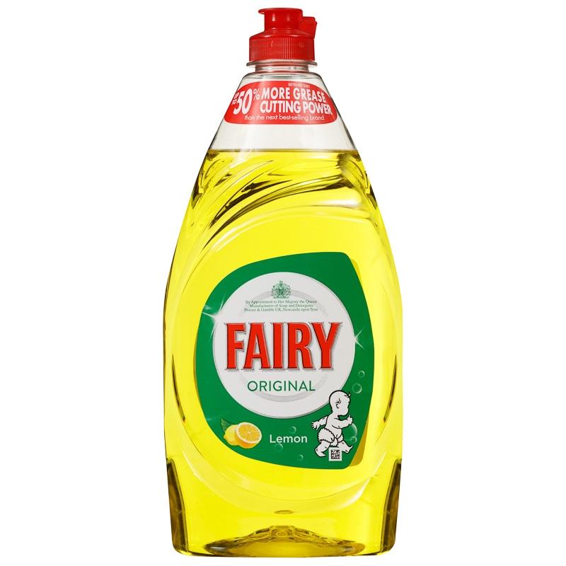 Fairy Original Washing Up Liquid Lemon 780ml Household