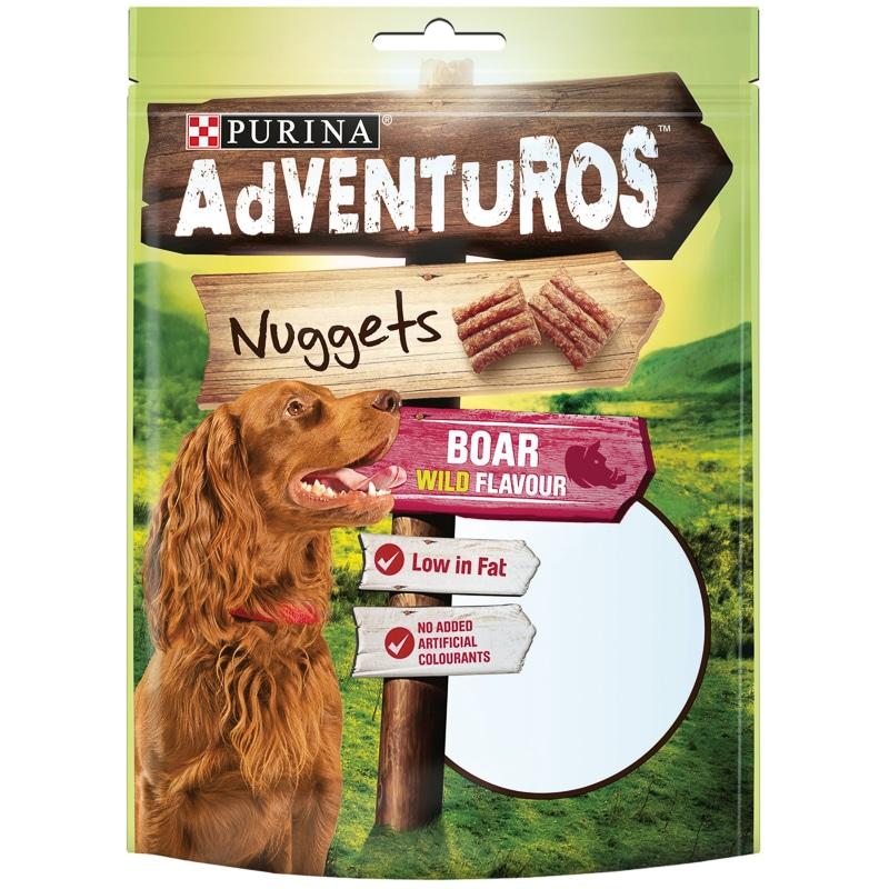 Purina Adventuros Nuggets Boar 90g Dog Food Dog Treats
