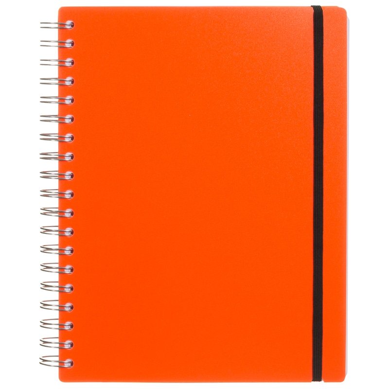 B5 PP Neon Notebook Stationery Back To School Notepads