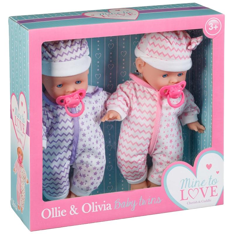 Ollie Amp Olivia Baby Twin Dolls Dolls Amp Accessories BampM
