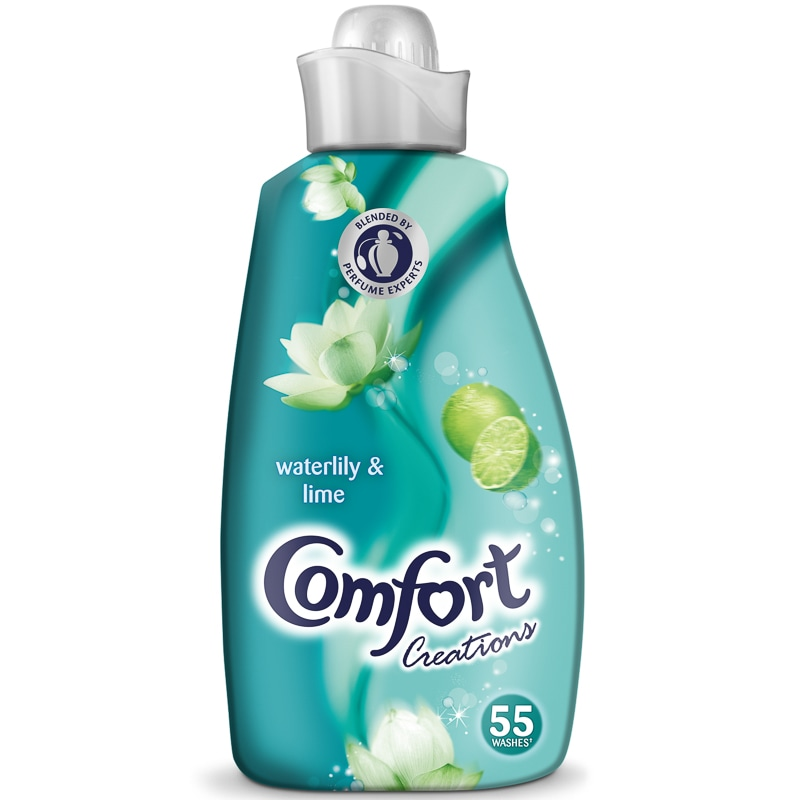 Comfort Creations Waterlily Amp Lime 19L Fabric Conditioner