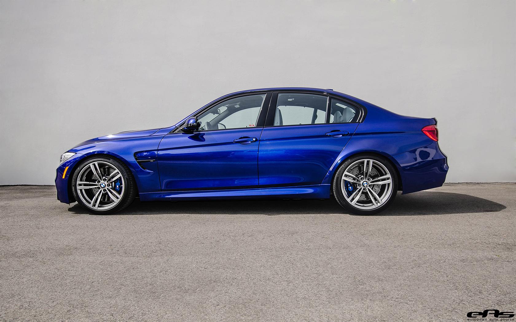 Subtle Modifications For A San Marino Blue BMW M3