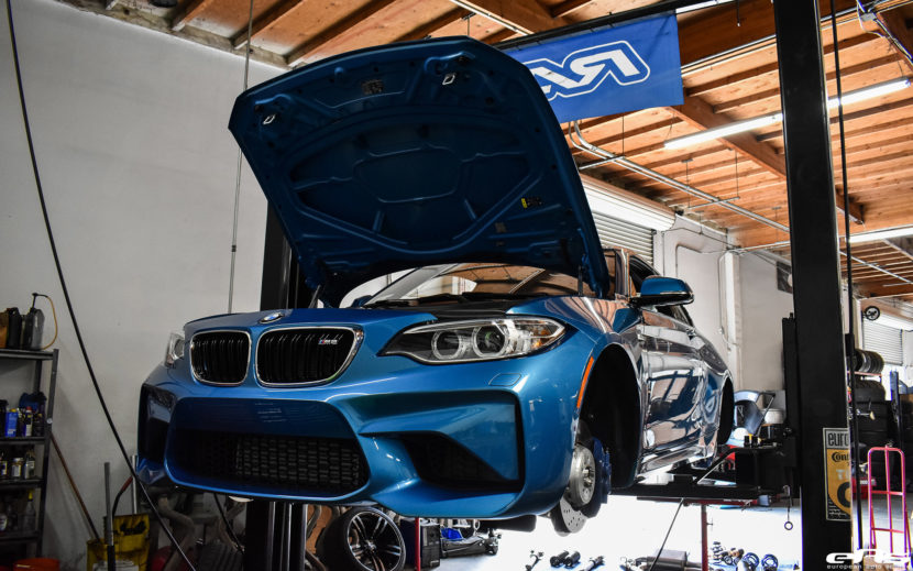 Long Beach Blue BMW M2 With The Dinan S1 Signature Package 8 830x519