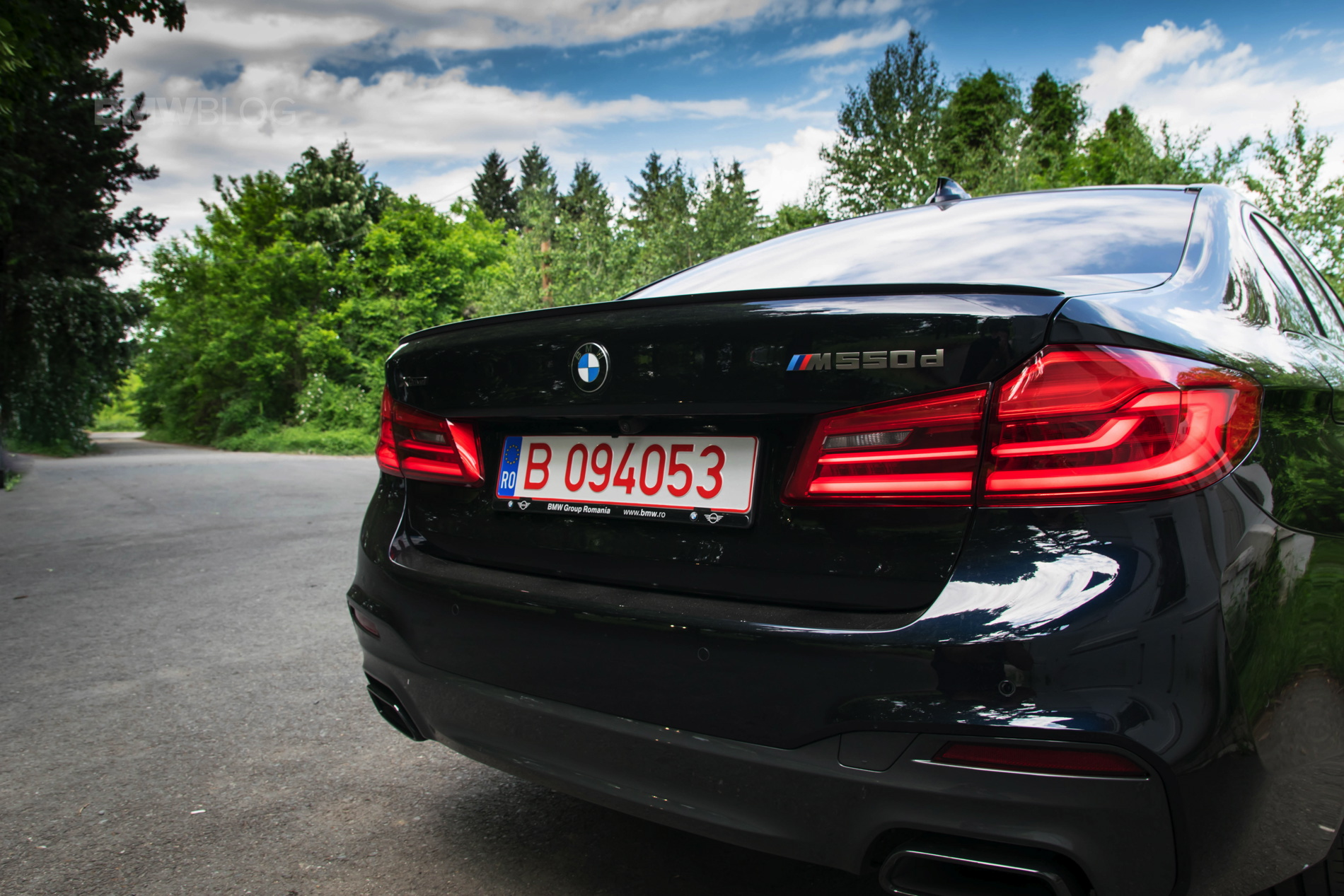 Video 515 Hp Bmw M550d Xdrive Goes For A Top Speed Run Website Of