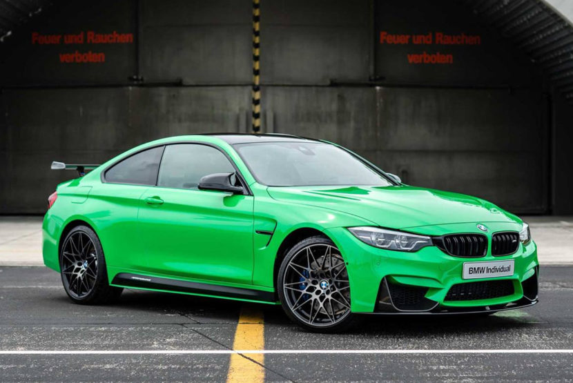 BMW Individual Signal Green M4 Competition 01 830x555