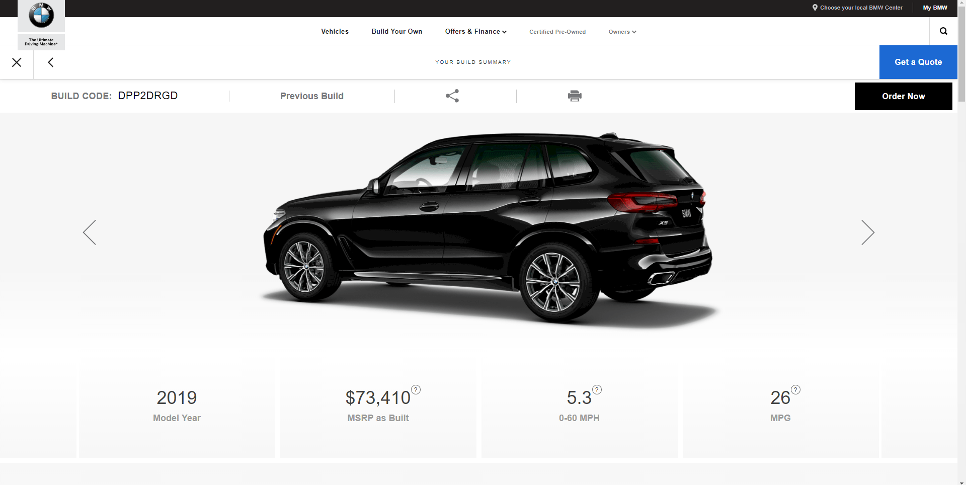 G05 Bmw X5 Configurator Goes Live On Bmwusa Website