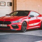 Video Bmw M8 Coupe Competition In Fire Red