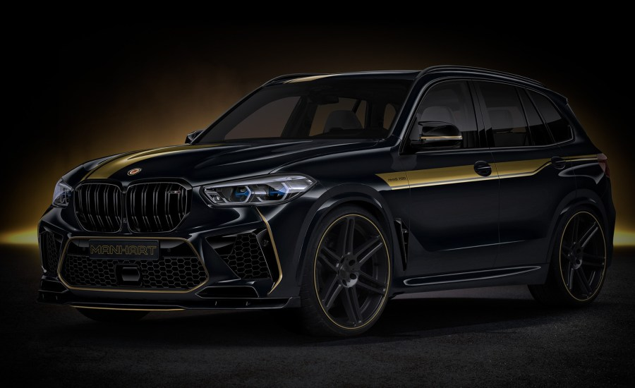 Tuning Preview: Manhart BMW M8, X5 M, X6 M and X7 announced