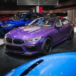 Bmw M8 Gran Coupe In Twilight Purple Go Big Or Go Home Upcoming Cars Library Up To Date