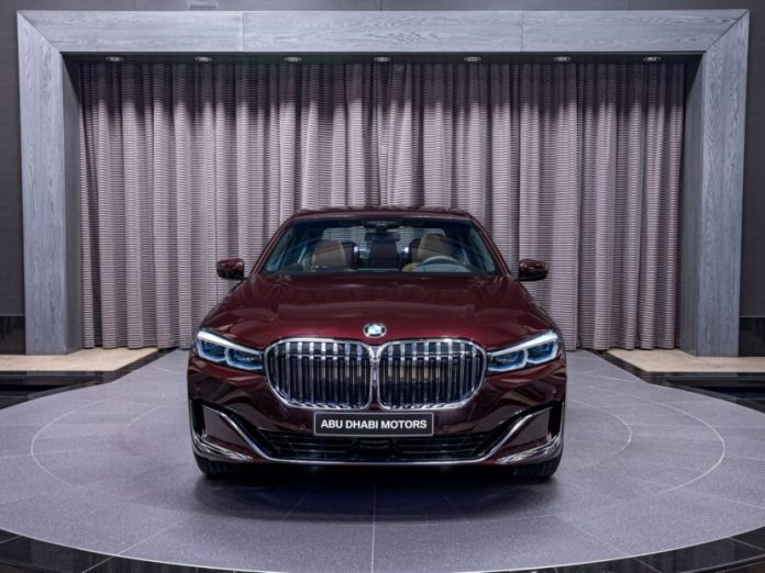 BMW 750Li xDrive in Royal Burgundy Red 7 830x623