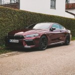 Rare Find Bmw M8 Coupe Competition In Individual Aventurine Red Ii