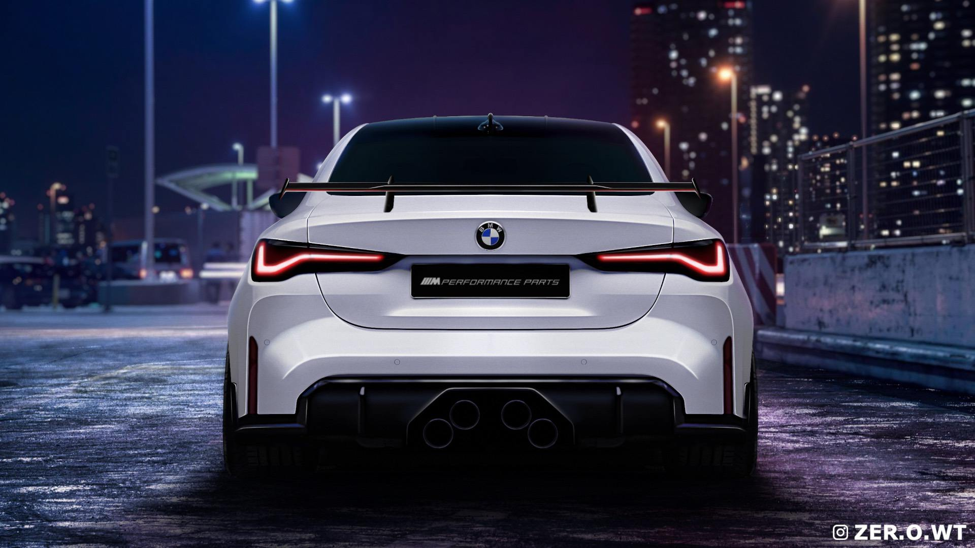 2021 bmw m4 gets rendered again with a