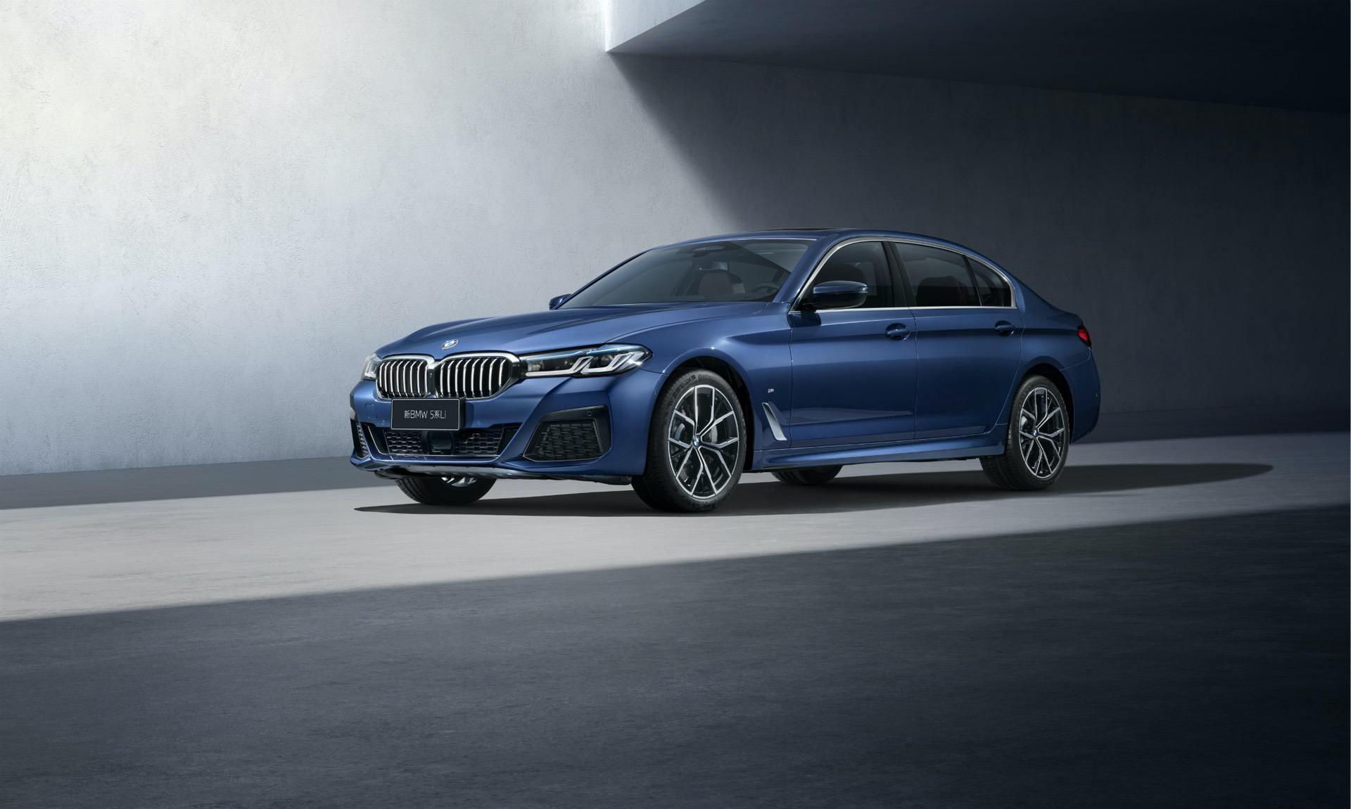 BMW 5 Series Facelift long wheel base 00