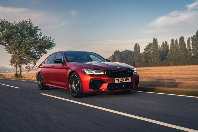 The New BMW M5 Competition UK 46 830x553