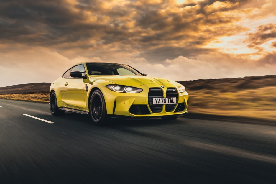 The The New BMW M4 Competition Coupe UK 31