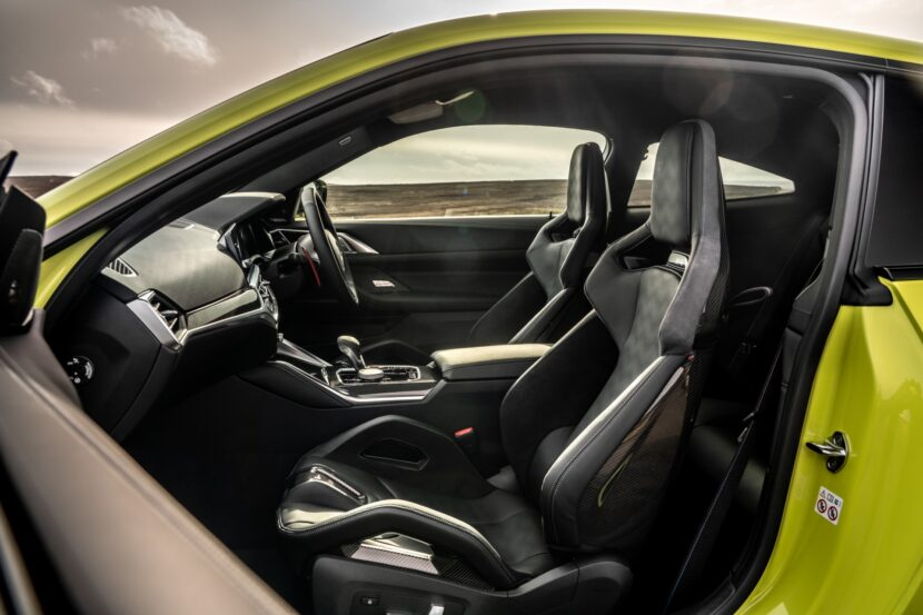 The The New BMW M4 Competition Coupe UK 42 830x553