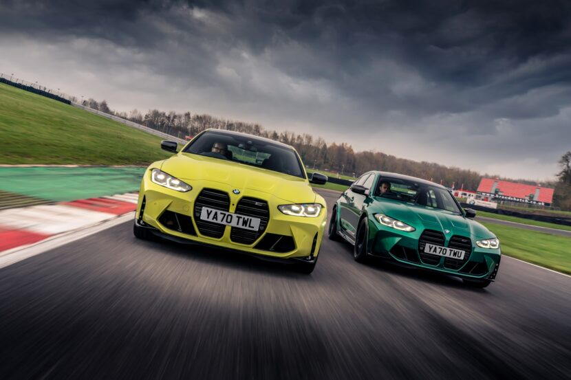The new M3 Competition Sedan and M4 Competition Coupe in UK 2 830x553
