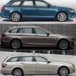 Photo Comparison F11 Bmw 5 Series Touring Audi A6 Avant And Mercedes E Class Estate