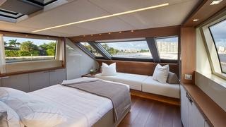 The Fantastically Light Filled Sanlorenzeo 34m Superyacht